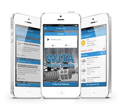 Radio app features. Listen live, events, weather